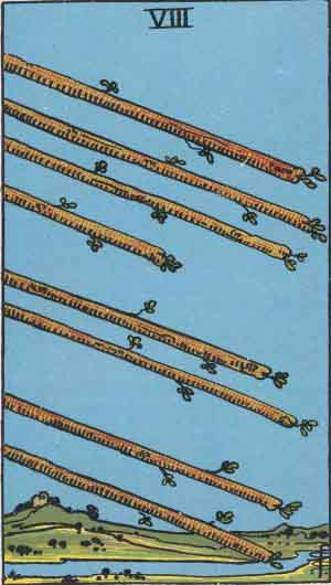 eight of wands in relationship