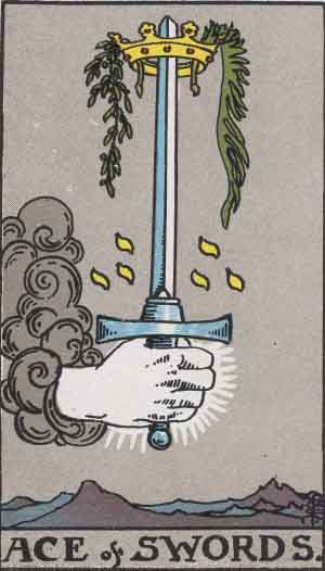 Ace of Swords Tarot card
