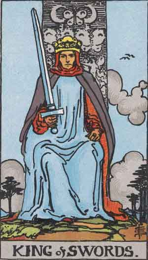The King Of Swords Tarot Card Meanings